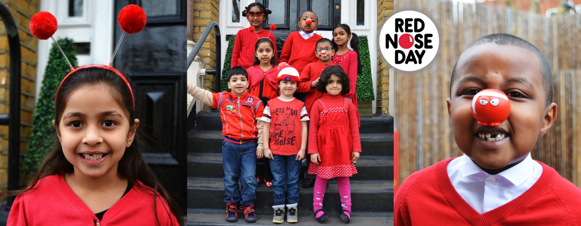 Red Nose Day Banner
